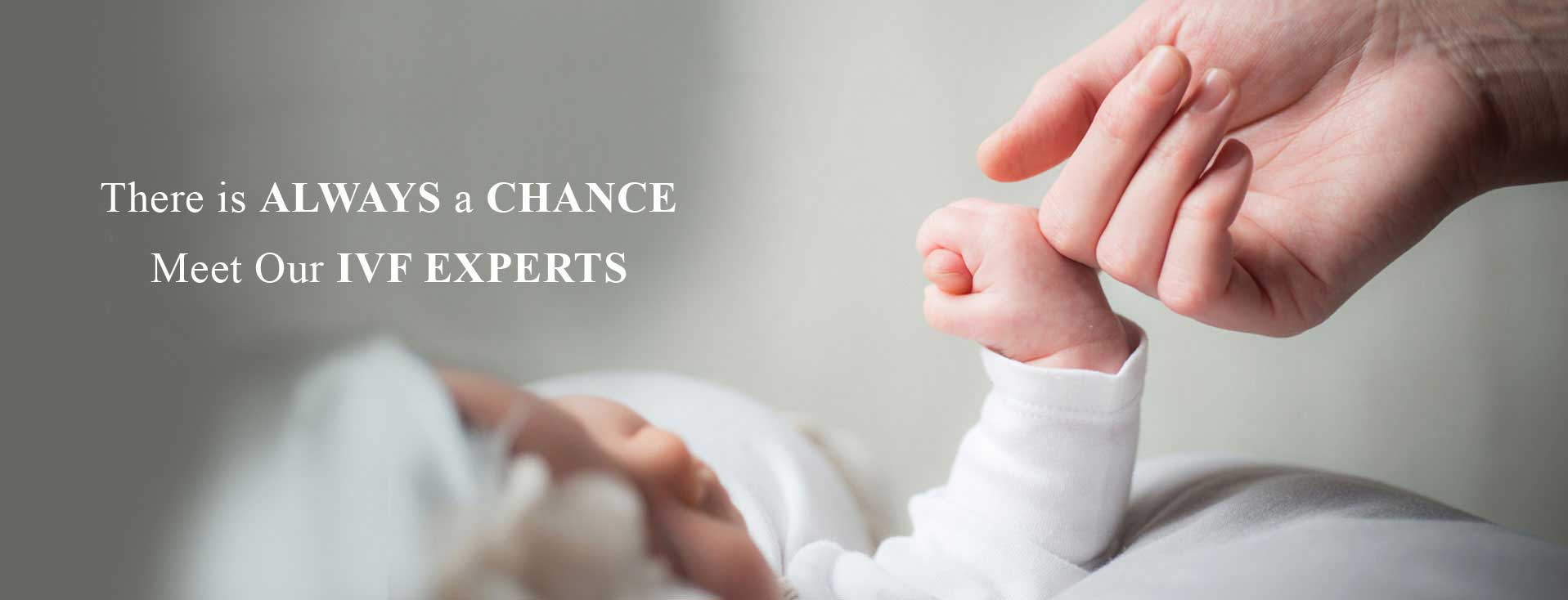 There is always a chance meet our ivf experts